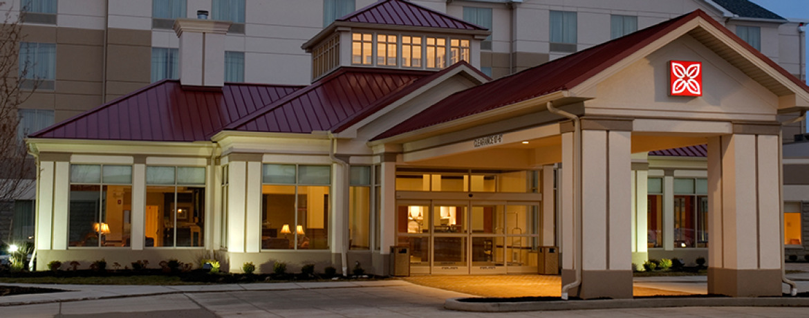 Hotel construction pride one for Hilton garden inn independence