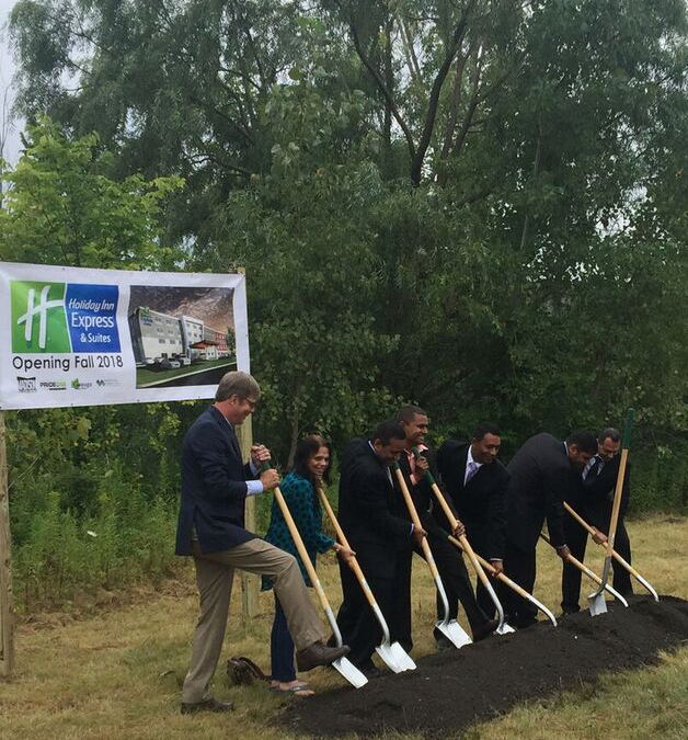 Madison Holiday Inn – Ground Breaking