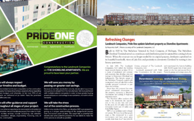 Pride One Construction Featured in Properties Magazine